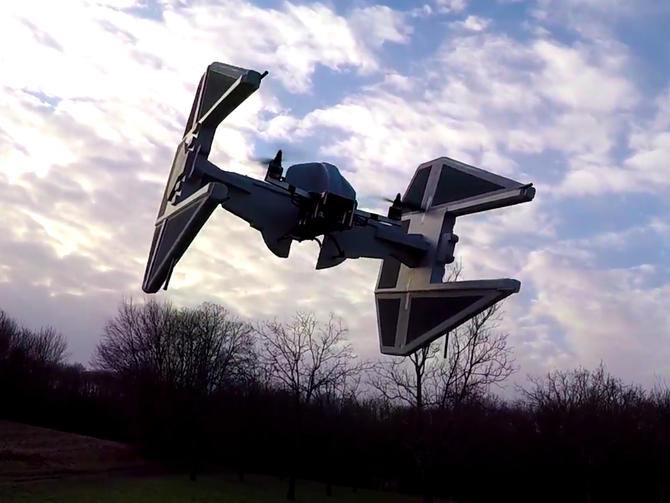 Drone TIE Interceptor Star Wars