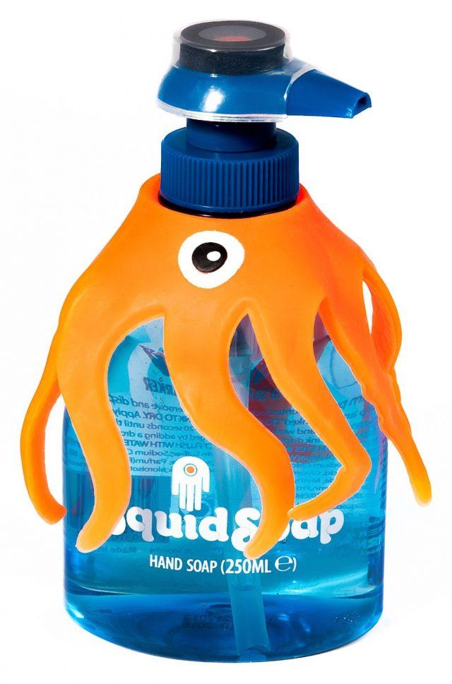 Distributeur de savon pédagogique SquidSoap