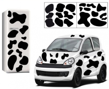 Stickers taches noires de vaches