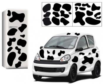 Stickers taches noires de vaches