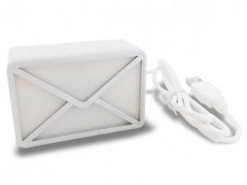 Enveloppe USB d'alerte email