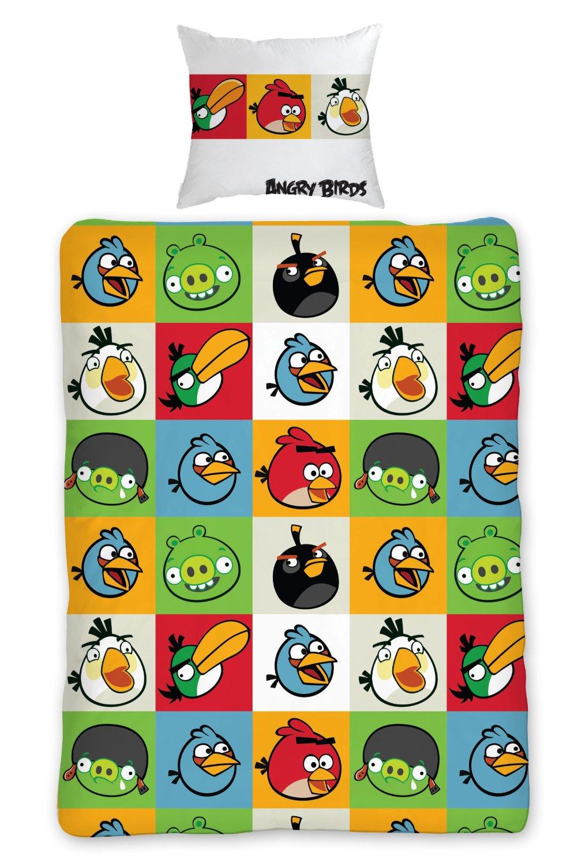 Housse de couette geek Angry Birds