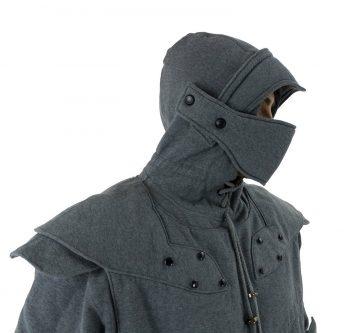 Pull à capuche chevalier