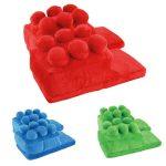 Chaussons en forme de LEGO