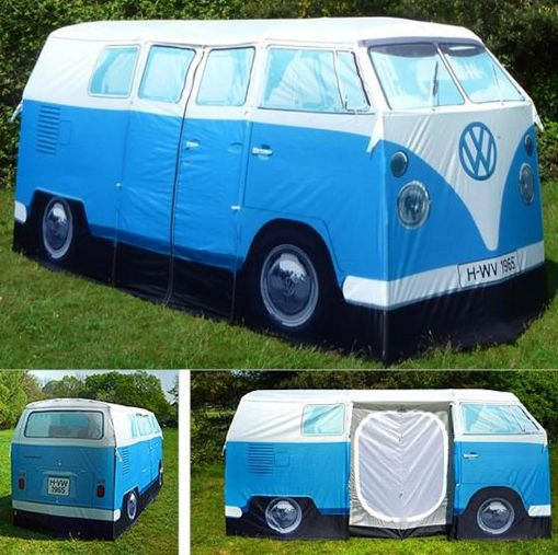 Tente en forme de Van VW Camper