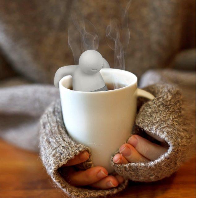 Bonhomme jacuzzi infuseur de thé