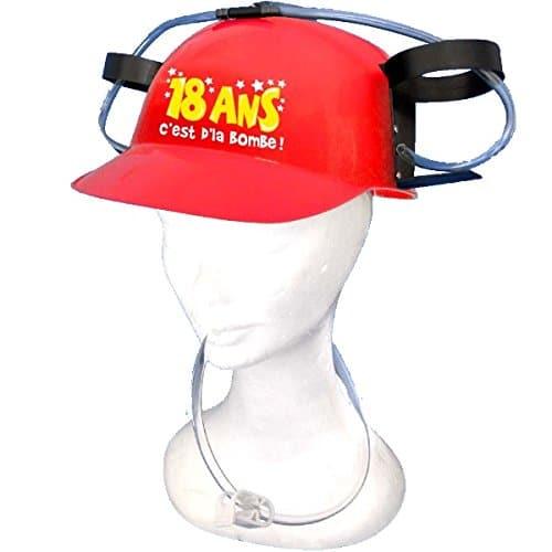 cadeau original casque anti-soif 18 ans