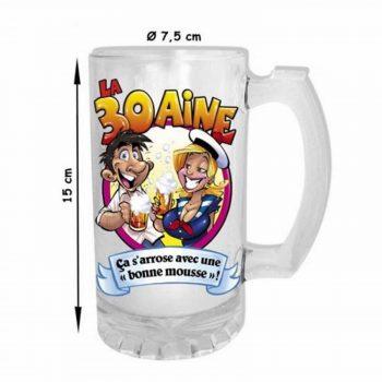 chope à bière insolite anniversaire