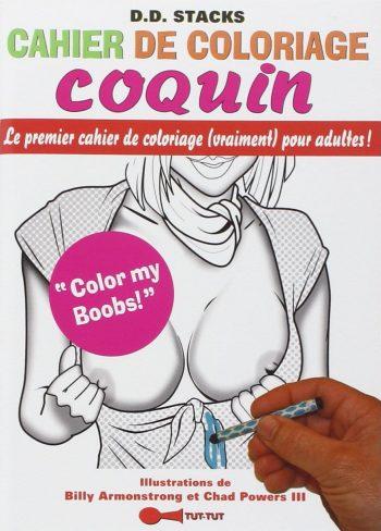 coloriage coquin insolite et original