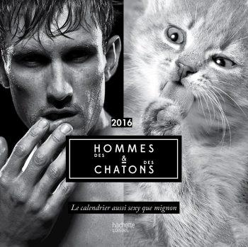 Calendrier original des hommes et des chatons