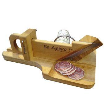 guillotine à saucisson, cadeau original et insolite