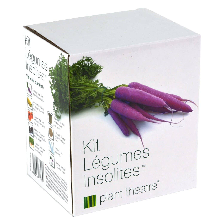 Kit de jardinage légumes insolites à faire pousser