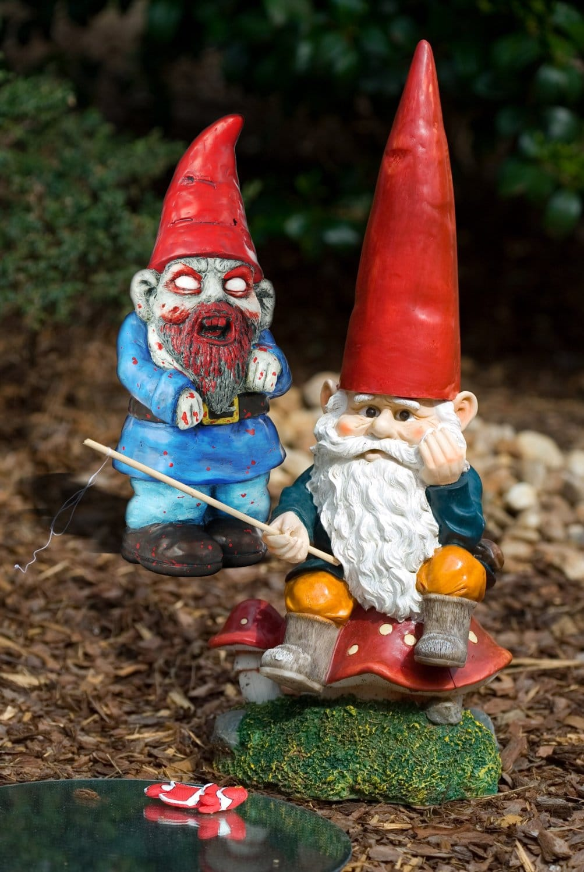 Nain de jardin zombie - Objet maison insolite - Mr. Etrange