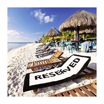 cadeau original et insolite la serviette de plage Reserved