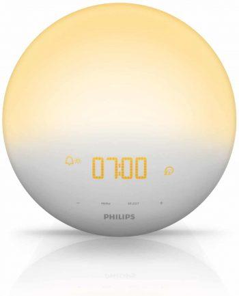 Eveil Lumière de Philips, réveil lumineux insolite