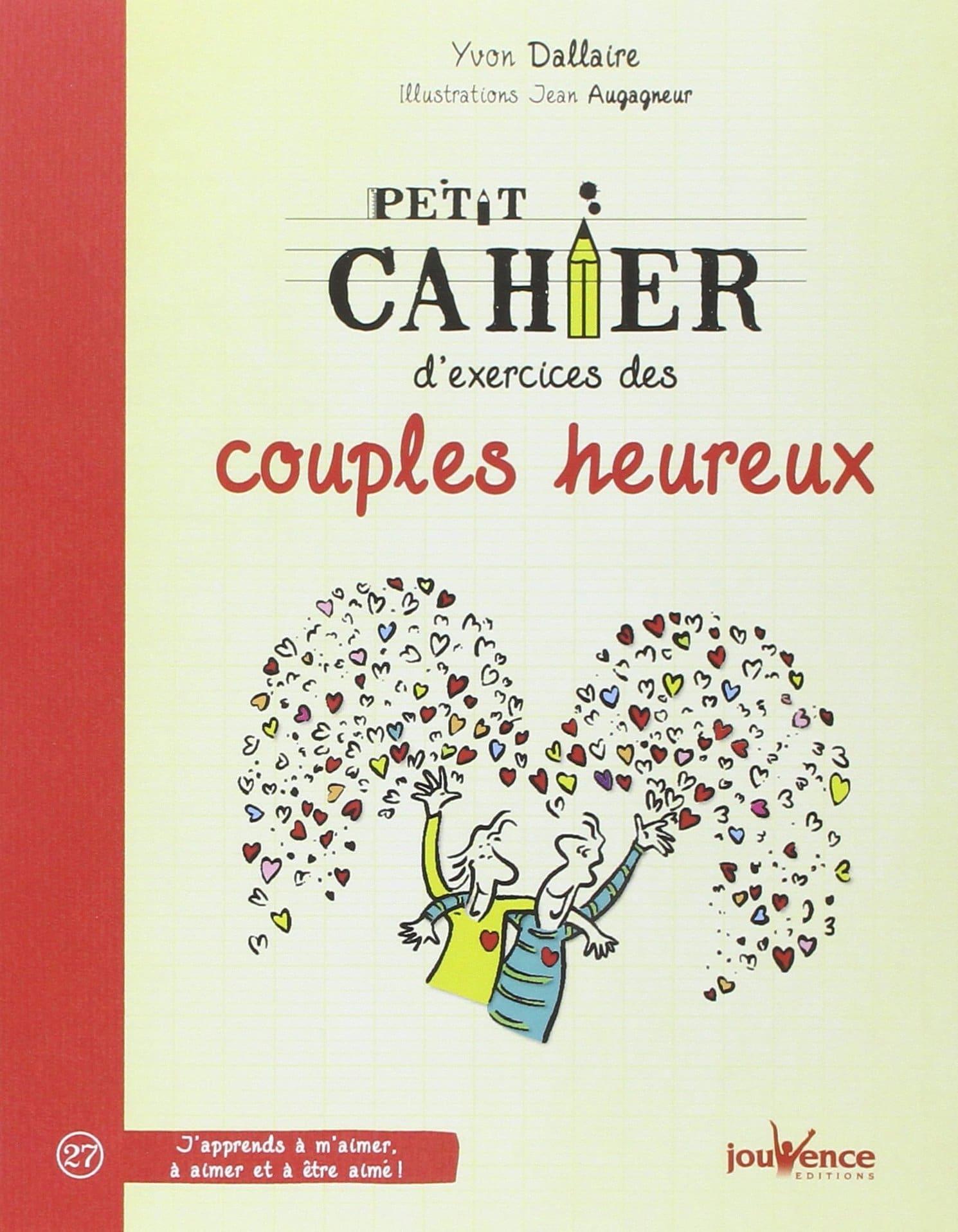 Cahier des couples heureux, livre insolite pour la Saint Valentin