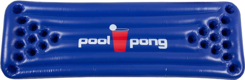 Matelas gonflable insolite pour jeu de bière pong