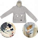 Sweat pour garder son chat contre soi