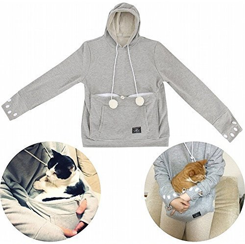 Mewgaroo sweat-shirt insolite pour garder son chat contre soi