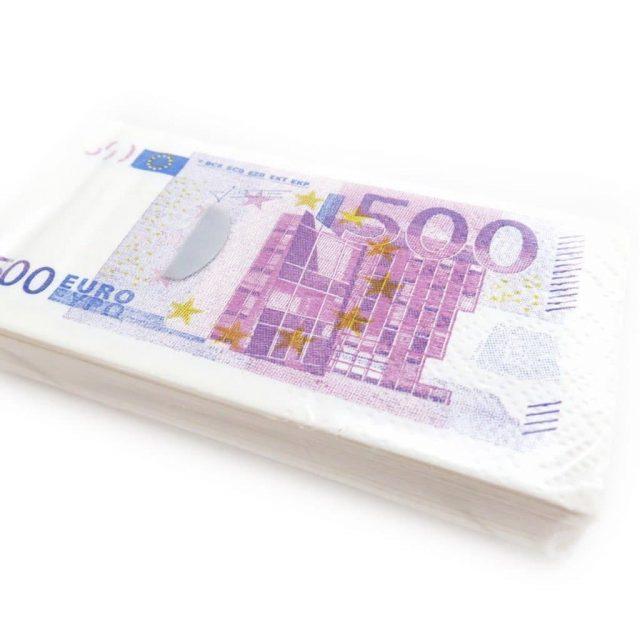 Paquet de mouchoirs 500 euros original anniversaire