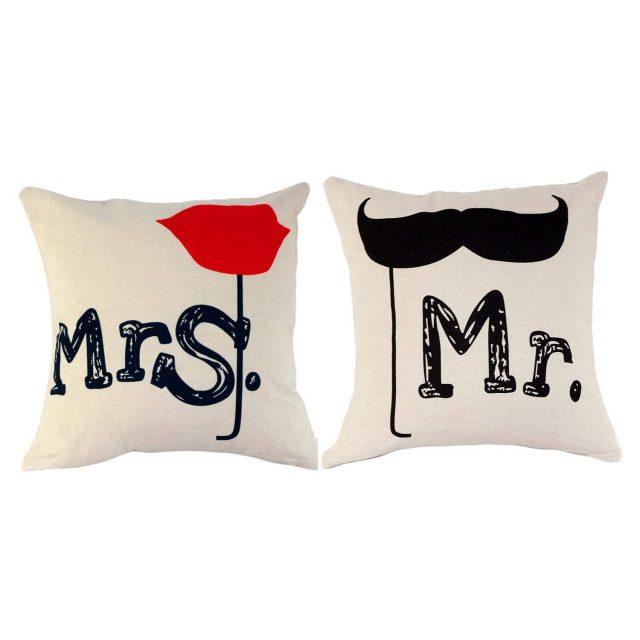 Taies d'oreiller originales pour la Saint Valentin