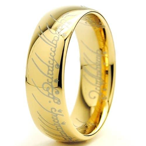 Anneau unique du seigneur des anneaux cadeau original