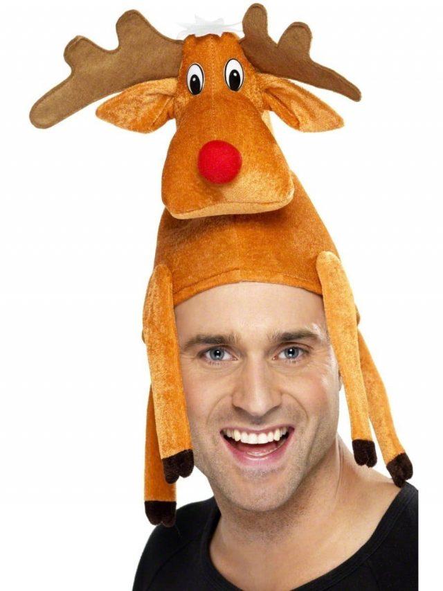 Bonnet de renne insolite pour Noël