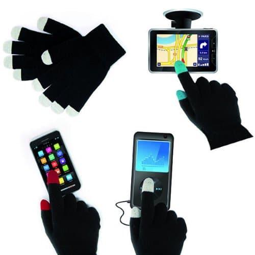 Gants insolites adaptés aux écrans tactiles