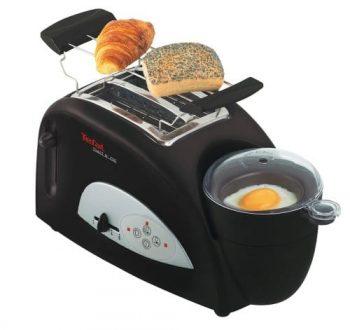 Grille-pain et oeufs sur le plat Tefal insolite