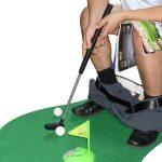 Mini golf pour toilettes
