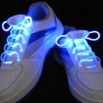 Paire de lacets lumineux