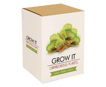 Kit Carnivox plantes carnivores insolites à faire pousser
