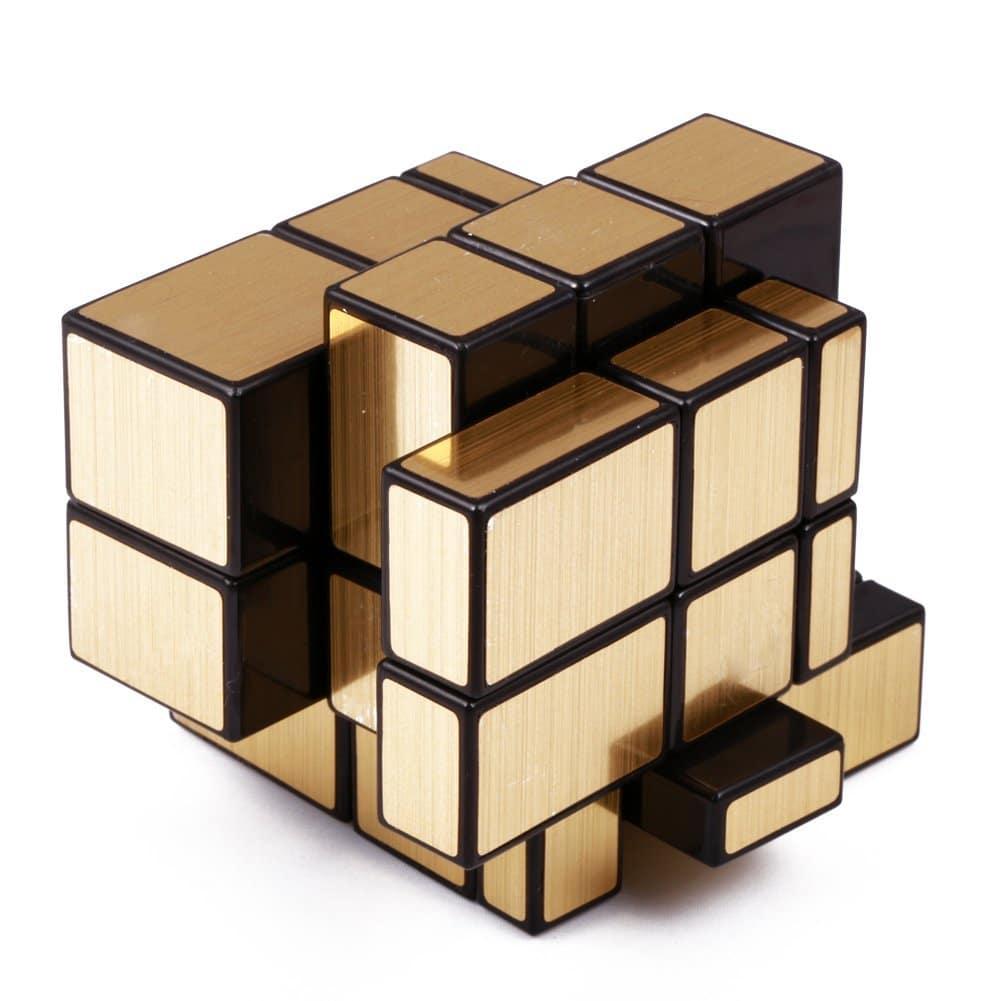 Rubik's Cube version or et argent insolite