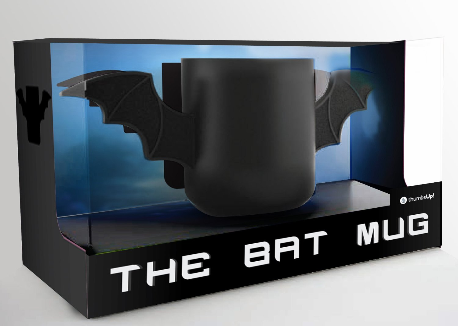 bat mug objet geek mr etrange. Black Bedroom Furniture Sets. Home Design Ideas