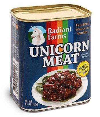 viande de licorne insolite