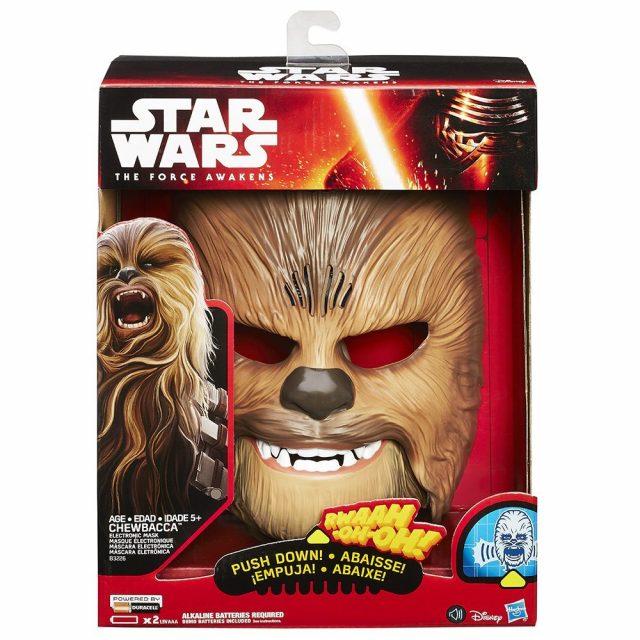 Masque électronique Chewbacca qui grogne comme un wookie