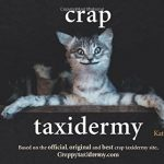 Livre Crap Taxidermy