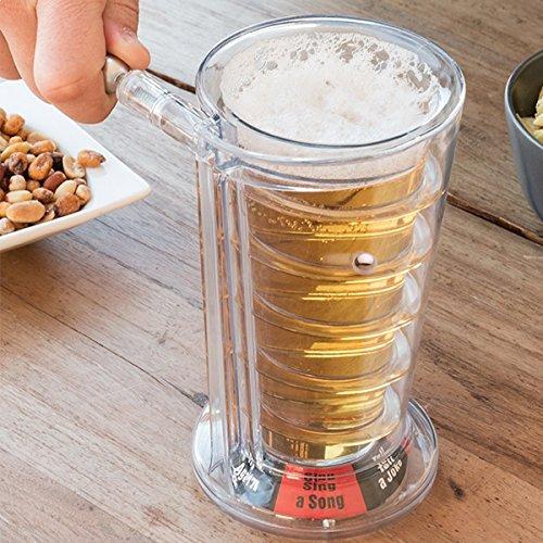 Choppe de bière jeu à boire insolite