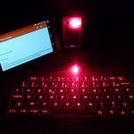Clavier infrarouge