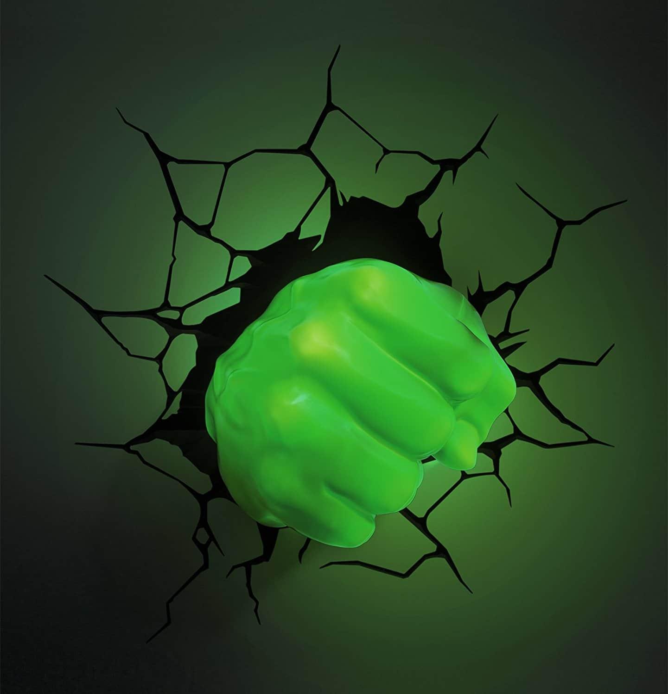 Lampe murale insolite Hulk