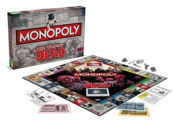 Monopoly original the Walking Dead