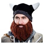 Bonnet viking avec barbe