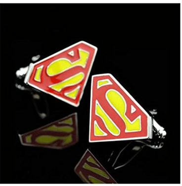 Boutons de manchette insolite super héros