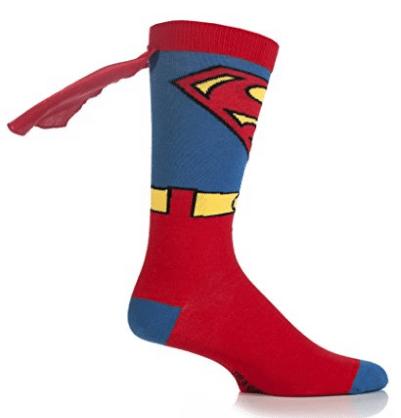 Chaussettes Superman insolite