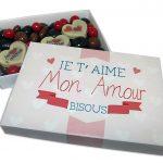 Chocolats «Je t'aime mon amour»