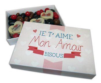 Chocolats originaux pour la Saint Valentin