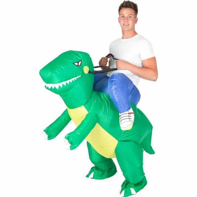 Déguisement insolite dinosaure