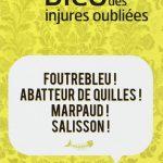 Livre «Dico des injures oubliées»