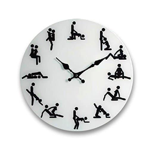 Horloge insolite Kama Sutra