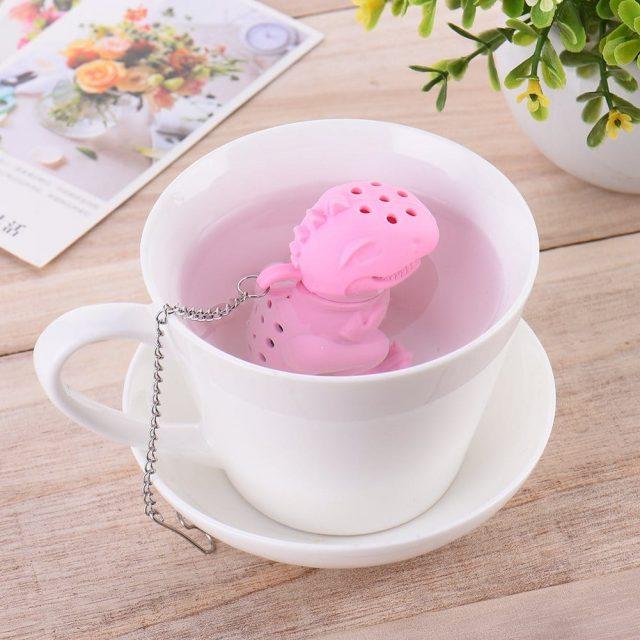 Boule à thé dinosaure original